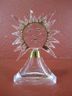 "Rare Salvador Dali & Baccarat Perfume Bottle ""Soleil"""