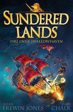 """""""Fire Over Swallowhaven (The Six Crowns, #3)"""" By: Allan Frewin Jones; J Fiction - JON http://find.minlib.net/iii/encore/record/C__Rb2981634"""