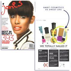 Habit in Jones Magazine, Spring 2014. Nailed it!