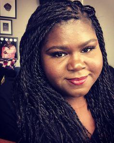 Gabourey Sidibe, Instagram Makeup, Hair, Strengthen Hair