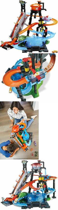 Free Shipping Hot Wheels Ultimate Gator Car Wash Playset Sale New