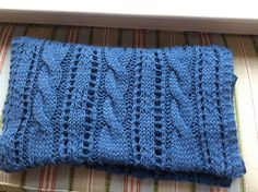 Ravelry: Project Gallery for Afghan and Pillow Cover pattern by Schachenmayr