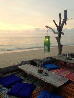 Hanging green lantern - Thaïlande / Via Lejardindeclaire