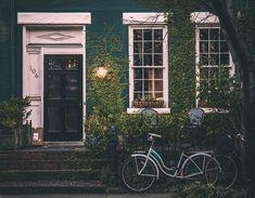 포도주, 집, 자전거, 홈, 건축물, 외관, 오래 된 집, 집 외관, 야외, 외부 집, 주거
