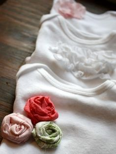 Cute ideas for plain onesies