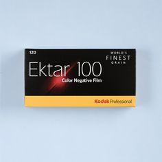 Kodak Ektar 100 120 Film 5 Pack