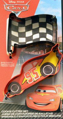 Cars Cookie Cutter Set by Wilton