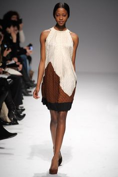 Martin Grant Fall 2011 Ready-to-Wear Fashion Show - Nyasha Matonhodze (ELITE)