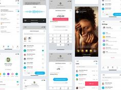Story Setting, Chat App, App Ui, Say Hi, Intuition, App Design, Light In The Dark, Ads, Messages