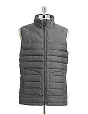 Printed Packable Down Puffer Vest