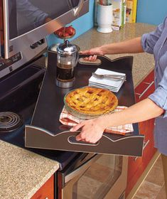 Wooden Stove Top Covers $23.95