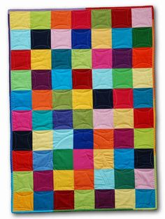 Elmer backing - solids only - squares - dogwood quilting