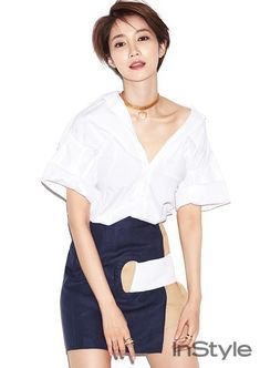 Go Joon Hee - InStyle Magazine May Issue '16