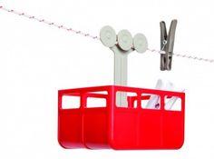 wasknijperbakje | deze cabine rolt over je waslijn