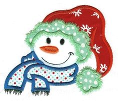 Snowbuddies Applique 11 - 4 Sizes!   Winter   Machine Embroidery Designs   SWAKembroidery.com Designs by Juju