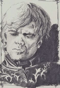 Tyrion Lannister by CaseyJRhodesArt on Etsy, $35.00