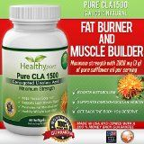 Pure CLA 1500 Extra Strength CLA Pills From Safflower Oil ,3000 mg Per Serving, 60 Vegetarian Softgels. Natural Fat Burner; Helps Reduce Belly Fat, Boosts Metabolism, Supports Lean Muscle Mass and Healthy Weight Loss. Made In The USA And Comes With 100% Satisfaction Money Back Guarantee. - How HealthyPure CLA 1500 Works  Usually, extra fat that your body doesn't need for energy, is stored into body's fat cells with the help of an enzyme called lipoprotein lipase.