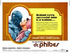 The Abominable Dr Phibes - 1970s b movie posters wallpaper image