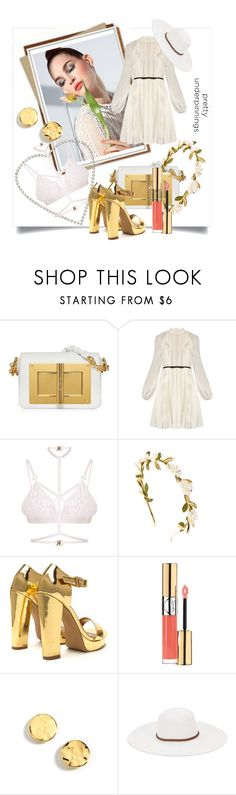 """""""The Prettiest Underpinnings"""" by kari-c ❤ liked on Polyvore featuring Giambattista Valli, Kamilla White, Yves Saint Laurent, Kenneth Cole, Physician Endorsed and prettyunderpinnings"""