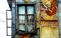 Ohrid (Macedonia) - Window in the Old Town. Where my Grandma and Grampa are from.