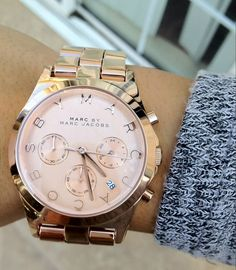 Marc by Marc Jacobs Henry Chrono watch