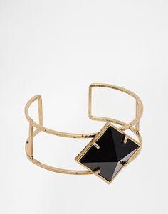 black diamond bangle