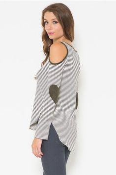 Shoulder Detailed Sweater Top
