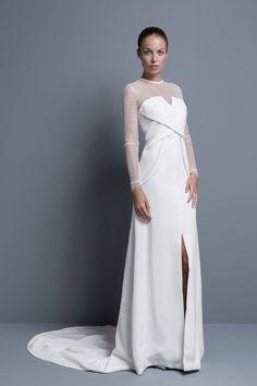 Vestidos de novia de Colour Nude 2014 #boda #vestidos