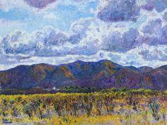 Entre las nubes. Oleo sobre lienzo. 60 x 80cm. 2013 http://www.mariosanzano.com.ar/