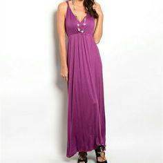 Beautiful Maxi Dress Maxi  95% Viscose 5% Spandex Dresses Maxi