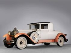 1928 Packard Custom Eight Stationary Coupe (443-318) '1927–28