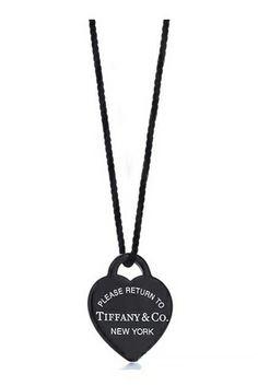 Return to Tiffany black heart <3