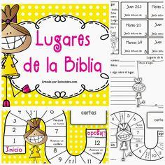 Packs para hacer tus devocionales en casa con los niños. Pack de personajes bíblicos En cada pack encontrarás *30 hojas de activi...