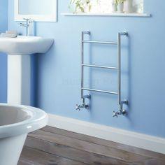 Hudson Reed Bad Heizkörper - 646 mm x 510 mm - 148 Watt - Handtuchwärmer aus Chrom für Badezimmer - moderne Badheizkörper: Amazon.de: Küche ...