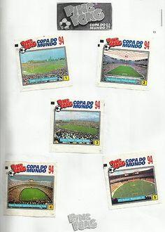 02- Álbum Ping Pong Copa do Mundo Estados Unidos 94 Childhood Memories, World Cup, Trading Cards, Antique Toys, United States, Chewing Gum