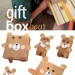 DIY Gift Box Bear