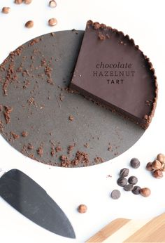 The Fauxmartha   Chocolate Hazelnut Tart   The Fauxmartha