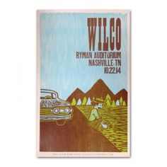 Wilco Ryman 2014 Night 2 Poster