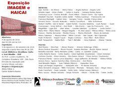 Maria Pinto: exposição IMAGEM e HAICAI - Biblioteca Brasiliana ...