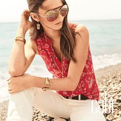 My favorite Cabi spring top https://yvettecruz.cabionline.com/.  What are you looking forward to wearing in spring?