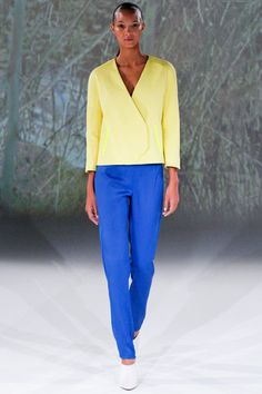 This is simple and beautiful.   @Chalayan Spring 2013 RTW