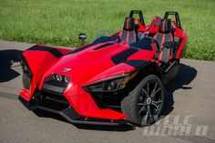 Cycle World - 2015 Polaris Slingshot - First Ride #Polaris #Slingshot