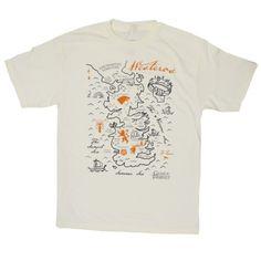 Game Of Thrones T-Shirt - Westeros Map Men's Tee