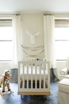 Love the Bright, Gender Neutral Design in this Outdoor-Inspired Nursery