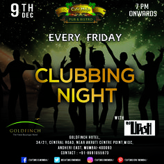 Experience the real nightlife this Friday at the clubbing night. Enjoy yourself with the drinks, music and dancing only at Café Mojo Mumbai. #CafeMojo #Pubs #Party #Beer #Fun #Beers #Enjoy #GoodTimes #OntheBar  #Parties #PartyMusic #DrinkLocal #Music #Dance #Pub #Drinks #EatLocal  #BeerDrinks #Mumbai  #OnthePub  #Clubbing #Club #Bar