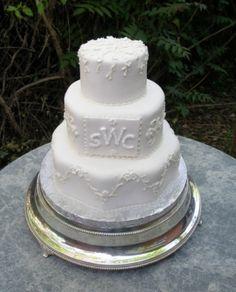 Simple Elegant Wedding Cakes   Elegant Fondant Wedding Cakes- wedding cake