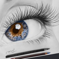 The Secrets Of Drawing Realistic Pencil Portraits - . Secrets Of Drawing Realistic Pencil Portraits - Discover The Secrets Of Drawing Realistic Pencil Portraits Pencil Drawing Tutorials, Art Tutorials, Pencil Sketching, Art Sketches, Art Drawings, Portrait Au Crayon, Realistic Eye Drawing, Drawing Eyes, Eye Sketch