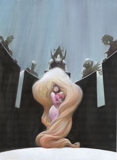 Medusa of the Inhumans by Bret Blevins