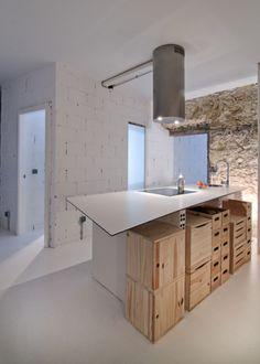 Preciosa la piedra... Apartment Renovation, Corner Desk, Furniture, Homes, Home Decor, Renovation, Environment, Oviedo, Trends