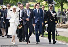 Denmark, Germany mark centennial of Danish reunification | Daily Mail Online Denmark Royal Family, Danish Royal Family, Crown Princess Mary, Prince And Princess, Prince Frederik Of Denmark, Princess Marie Of Denmark, Prince Frederick, Queen Margrethe Ii, Reunification
